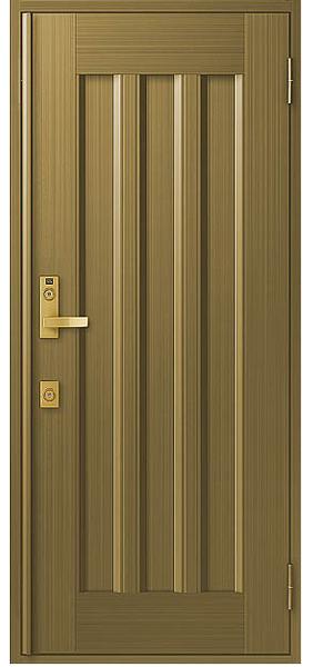 アルミサッシ トステム 玄関ドア クリエラR 半外付 片開き 19型