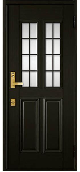 アルミサッシ トステム 玄関ドア クリエラR 半外付 片開き 12型