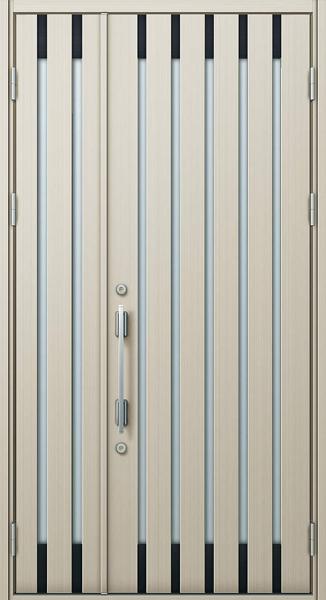 YKK 玄関ドア プロント S08C 親子 W1235×H2330 DH23