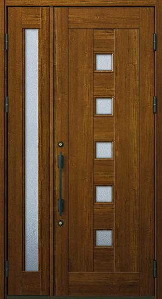 YKK 玄関ドア プロント K01A 親子 W1235×H2330 DH23