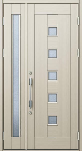 YKK 玄関ドア プロント K01C 親子 W1235×H2330 DH23