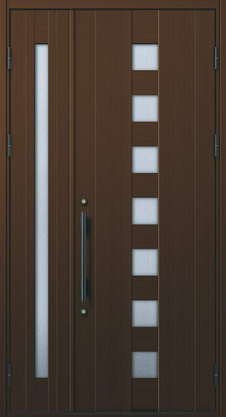 YKK 玄関ドア プロント K02C 親子 W1235×H2330 DH23
