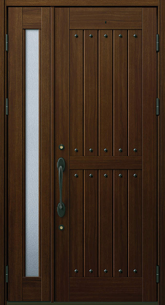 YKK 玄関ドア プロント W01A 親子 W1235×H2330 DH23