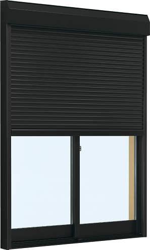 シャッター雨戸付アルミサッシ W1870×H2230(18322)複層