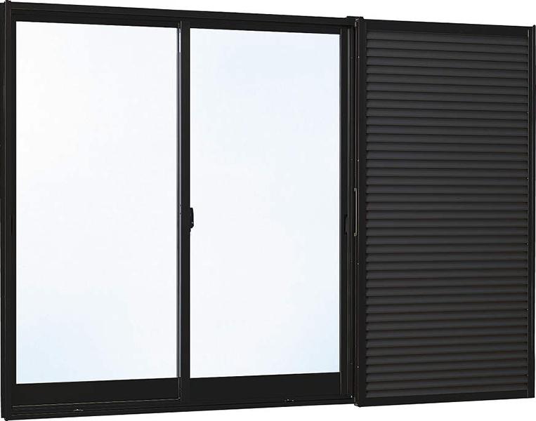 雨戸付 アルミサッシ W2550×1830 25118 複層ガラス 30%OFFクーポン! 特売限定 返品・交換について