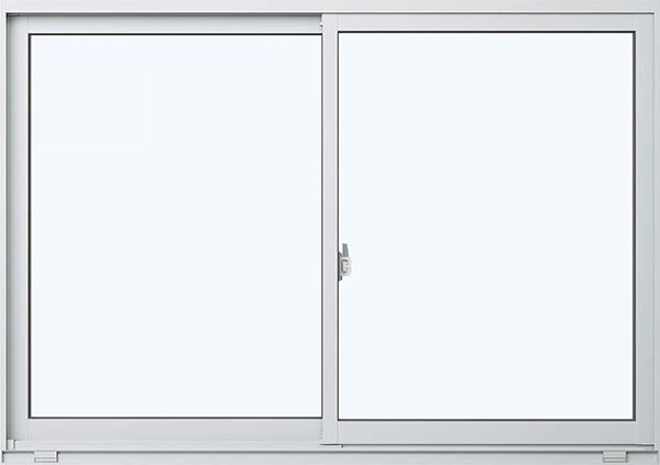 アルミサッシ エピソード 引違い窓 W870×H370 (08303)複層