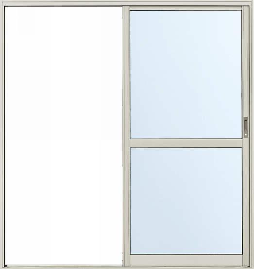 アルミサッシ YKK 勝手口 片引戸 2HH W1235×H2000 (12320) 内付