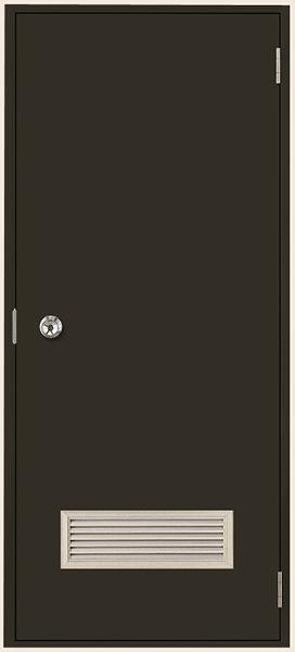 トステム (LIXIL) 内付 フラッシュドア ガラリ付 W803×H1841(0818)