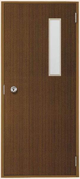 トステム (LIXIL) 内付 フラッシュドア 小窓付 W803×H1841(0818)