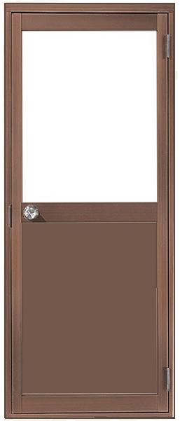 アルミサッシ トステム 内付 勝手口 框ドア W803×H1841 (0818)