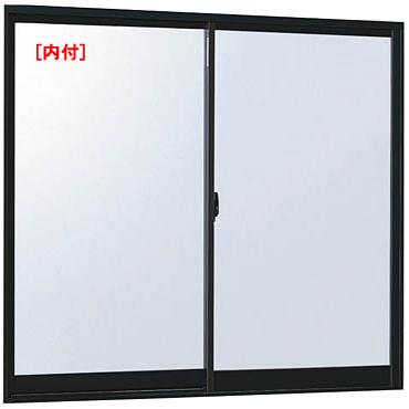 アルミサッシ 訳あり品送料無料 アウトレット フレミングJ 内付 引違い窓 07411 W780×H1170 単板