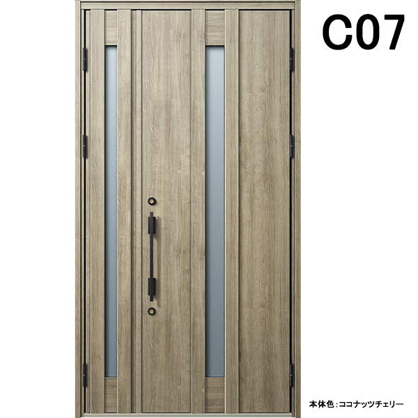 YKK 玄関ドア ヴェナート C07 親子 W1235×H2330