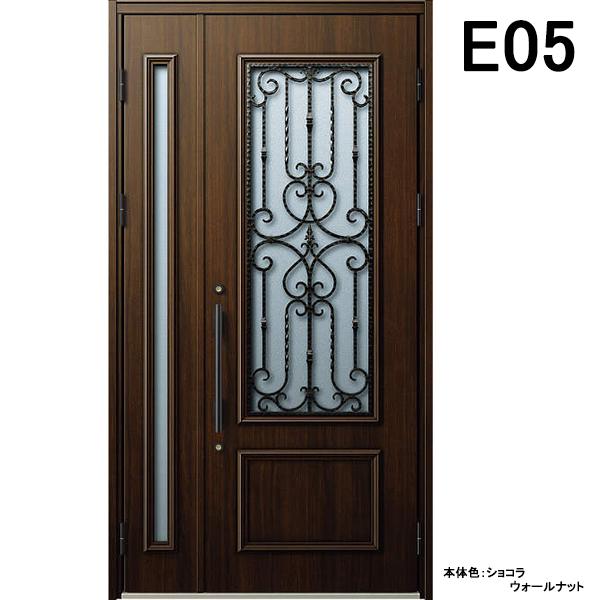 YKK 玄関ドア ヴェナート E05 親子 W1235×H2330