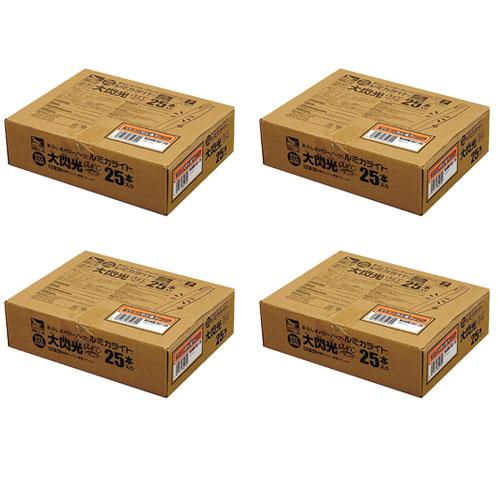 ペンライト ルミカライト 大閃光arc アーク 国際ブランド 人気ショップが最安値挑戦 極オレンジ 25本入り 100本分入り E00572 ×4箱セット