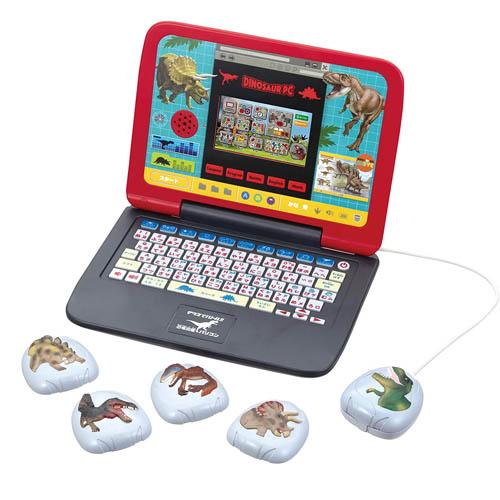 恐竜パソコン おもちゃ マウスでバトル バーゲンセール 恐竜図鑑パソコン 内祝い