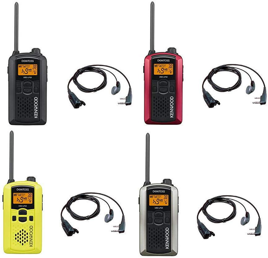 トランシーバー 特定小電力 無線機 インカム注目の商品★ケンウッド UBZ-LP20 + 純正イヤホンマイクEMC-3