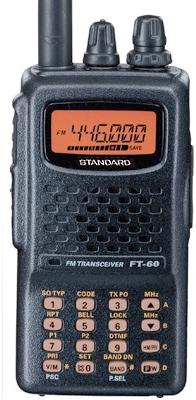 FT-60YAESU スタンダード 144/430MHz ハンディー