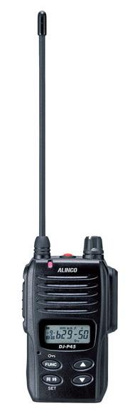 トランシーバー 特定小電力無線機 インカム 同時通話アルインコ トランシーバー DJ-P45