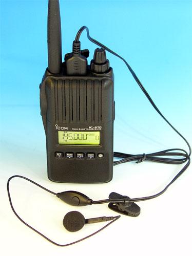 アイコム IC-S70 144/430 5W シンプルモデル オリジナルイヤホンマイク付