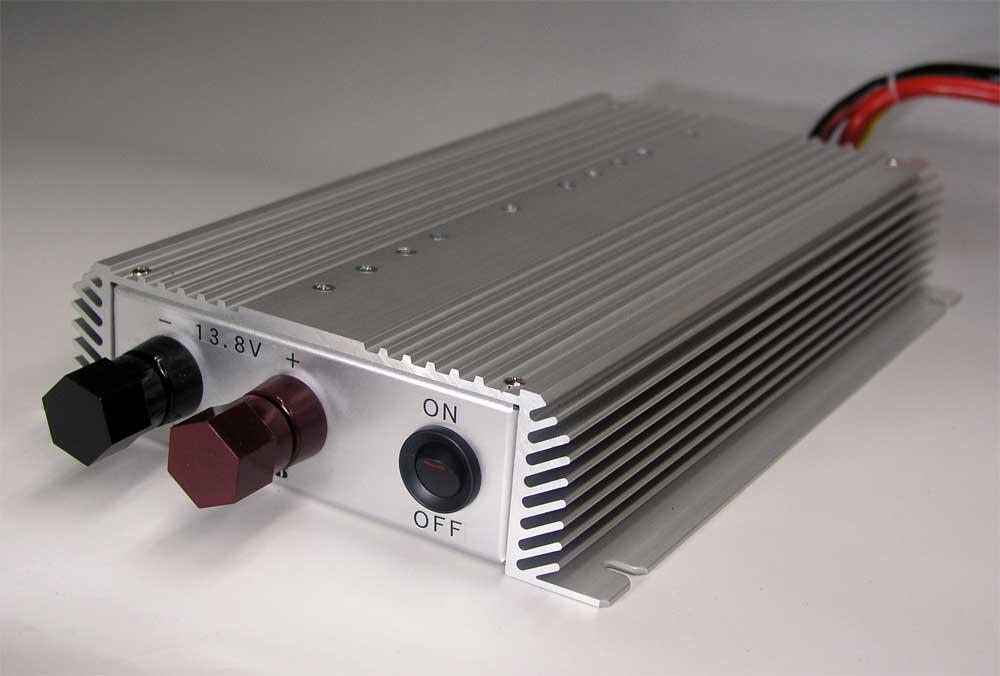 DC-DC アップバーター UP-1260B12V → 13.8V  60A★ノイズオフセットボリューム装備★