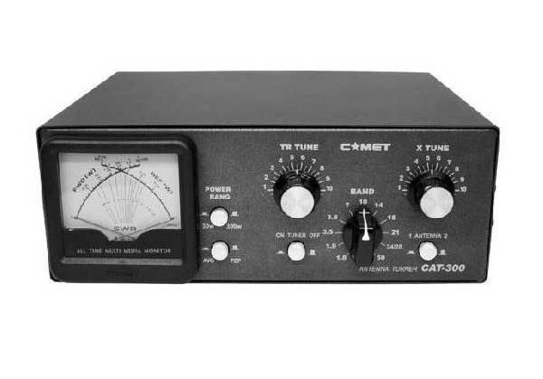 CAT-300 コメット HF アンテナカップラー 中継ケ-ブルプレゼント中 CAT300