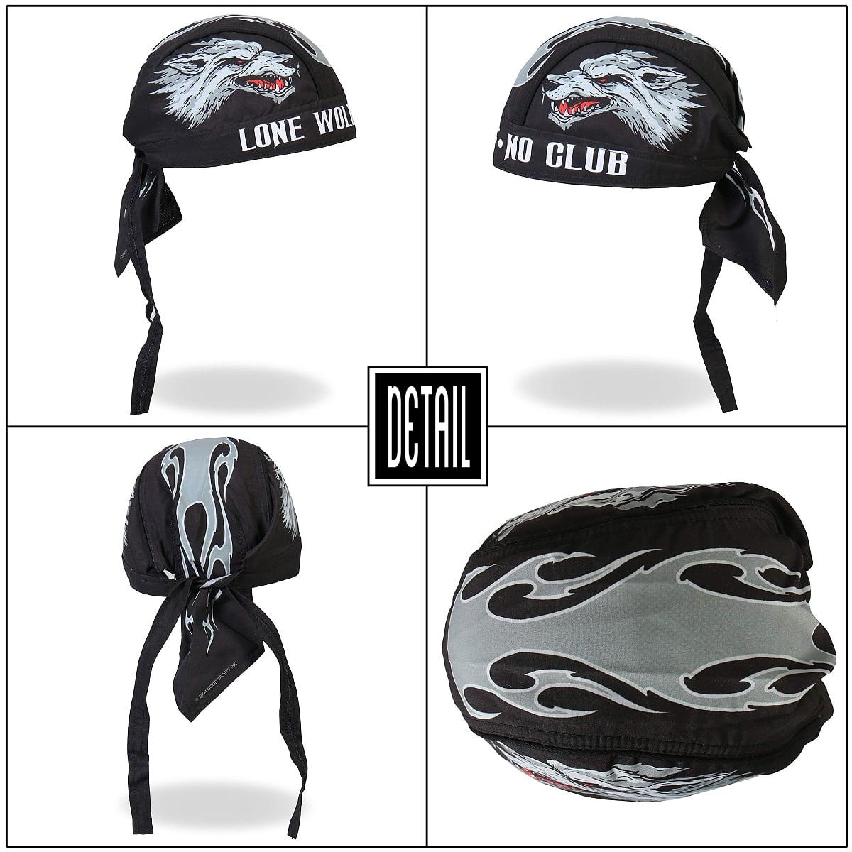 White Hot Leathers American Bike Head Wrap