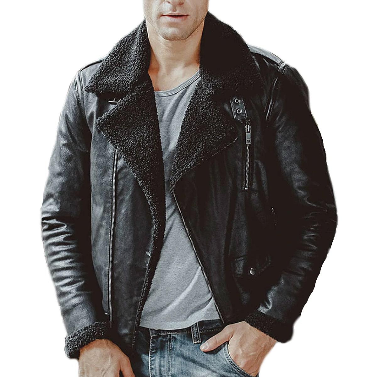 【送料無料!】全2色! 10サイズ! [Men's Vintage Pigskin Genuine Leather Motorcycle Jacket] メンズ ビンテージ ピッグスキン ジェニュインレザー モーターサイクルジャケット! 本革 豚革 フライトジャケット スエード コート ライダース アビエーター アウター バイクに!