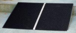 スロープ 屋外用段差解消スロープ・アルミ材 610ミリ*740ミリ