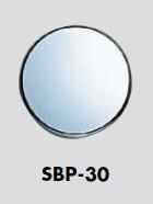 テープ付き メール便可 ABS樹脂製サインプレート 透明ガラス衝突防止 日本産 人気の製品 30ミリ丸