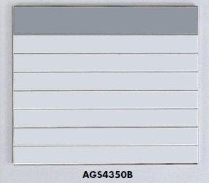 返品不可品 案内板サインプレート 8段(1-7)432×502 名入れなし