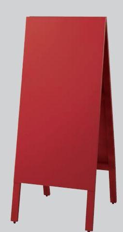 スタンド黒板 チョーク用 3台セット 赤