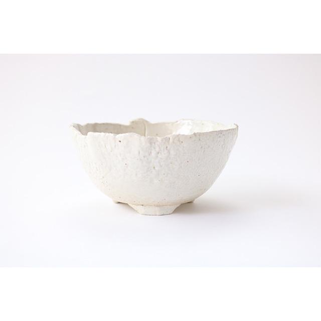山野草鉢 盆栽鉢 ブランド買うならブランドオフ ミニ盆栽 英窯 萬古焼き 萬古焼 送料無料 丸型手造り鉢 白4号 植木鉢