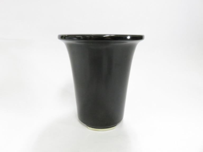 山野草鉢 観葉鉢 蘭 陶器鉢 激安 激安特価 送料無料 6号鉢 価格 植木鉢 ランや観葉植物全般に最適な植木鉢です ラン鉢 常滑焼 シンビジューム 黒6号