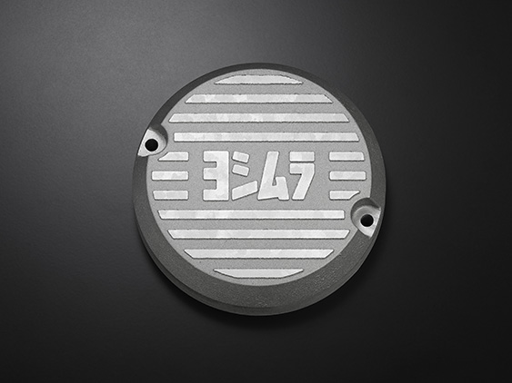 YOSHIMURA/ヨシムラ CB400FOUR (408cc: 74-77 /398cc: 76-77) アルミポイントカバー シルバー  (品番 280-448-A200)