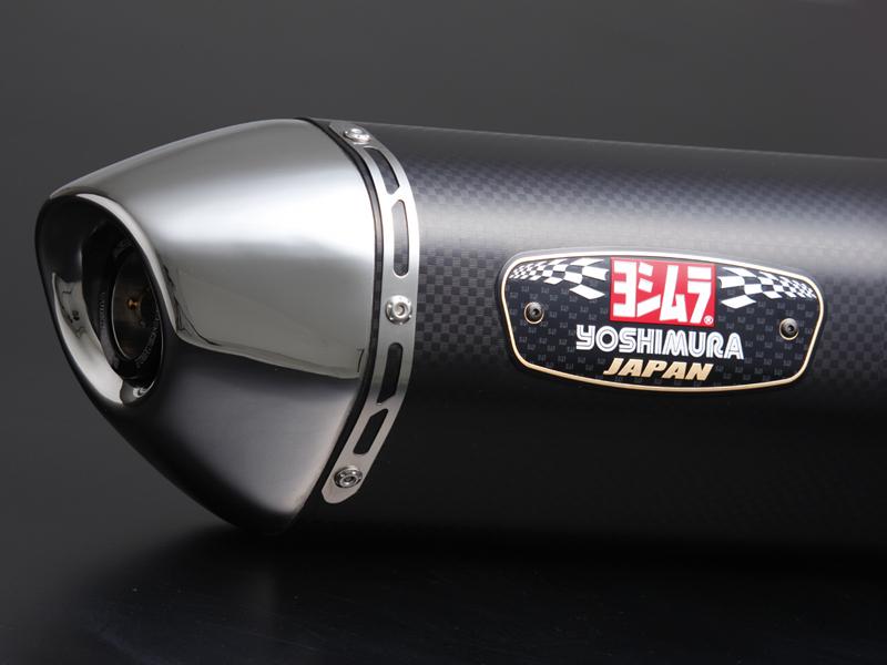 YOSHIMURA/ヨシムラ GSX-S750(17:ABS) Slip-On R-77Jサイクロン EXPORT SPEC 政府認証 メタルマジックカバー/ステンレスエンドタイプ (品番 110-150-5V20 )
