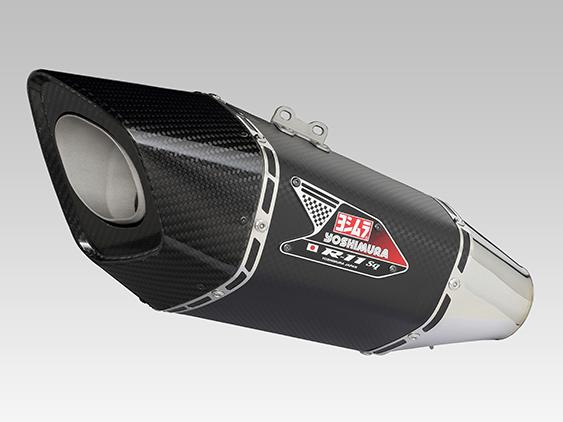 YOSHIMURA/ヨシムラ GSX-S750(17:ABS) Slip-On R-11Sqサイクロン EXPORT SPEC 政府認証 SM (メタルマジックカバー) (品番 110-150-L12G0 )