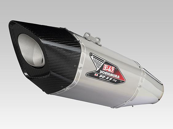 YOSHIMURA/ヨシムラ Slip-On R-11Sqサイクロン EXPORT SPEC 政府認証 ST (チタンカバー) GSX-R1000(12-16 : カナダ仕様)(車両型式 GT78A / GT78B / エンジン型式 T717) (品番 110-519-L18G0 )