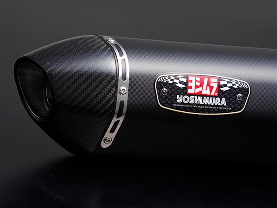 YOSHIMURA/ヨシムラ 機械曲R-77S カーボンエンド SMC CBR125R(国内仕様:13-)/CBR150R(タイ仕様:10-11) (品番 110A-42A-5120 )