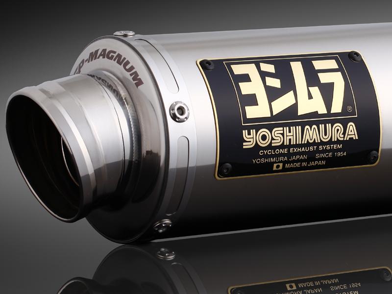 ADDRESS V125/V125G(05-07) ヨシムラ Tri-Oval サイクロン SS (ステンレスカバー) マフラー (品番 110-103-5351 )