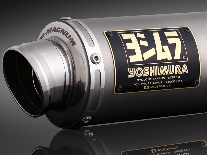 ADDRESS V125/V125G(05-07) ヨシムラ Tri-Oval サイクロン ST (チタンカバー) マフラー (品番 110-103-5381 )