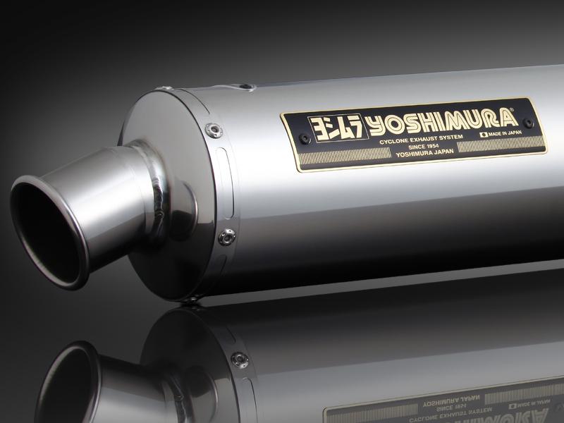 GSX1400(-05) ヨシムラ 機械曲げチタンサイクロン ステンレスカバー マフラー (品番 110-114-8252 )