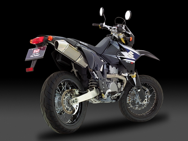 【受注生産品】 DR-Z400S/SM(05-08) ヨシムラ FIRE SPEC 機械曲チタンサイクロン ステンレスカバー マフラー (品番 110-126f8c50 )