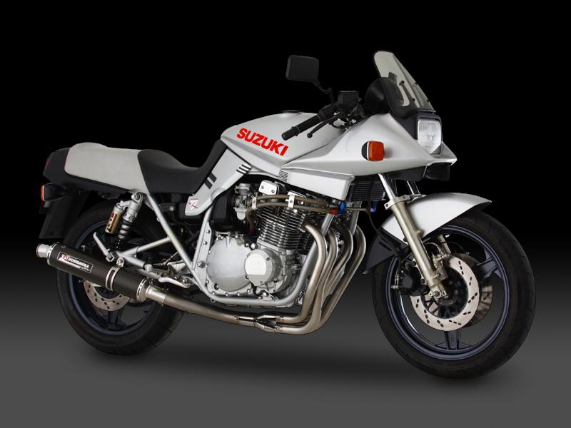GSX1100S(全年式対応) ヨシムラ 機械曲げチタンサイクロン チタンカバー マフラー (品番 110-191-8280 )