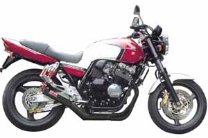 MORIWAKI/モリワキ ONE-PIECE BLACK  CB400SF(NC39) 99-07 マフラー ( 01810-40168-01 )
