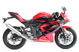 MORIWAKI/モリワキ 15- Ninja/ ニンジャ 250SL スリップオン ZERO SUS S/O ( 01810-ll248-00 )