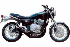MORIWAKI/モリワキ ONE-PIECE BLACK  CB400Four 97- マフラー ( A100-157-2411 )