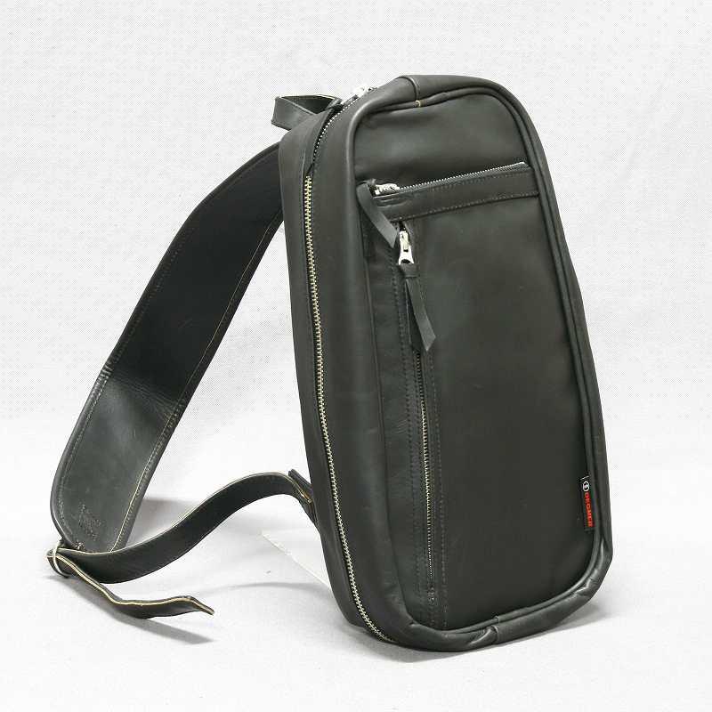 【デグナーWEB正規代理店】 無料ギフト包装可 5S-W4T ブラック ボディバッグ (5S-W4T-BK)