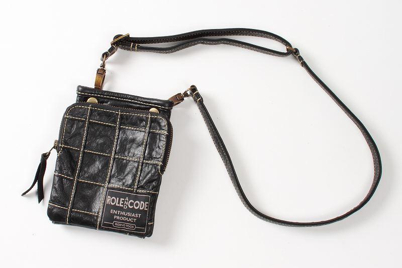 【デグナーWEB正規代理店】 無料ギフト包装可 3ウェイレザーポーチ ブラック  ( RACW-3-BK )