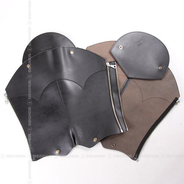 【デグナーWEB正規代理店】 レザーブーツチャップス ブラック 牛革 フリー  ( DBC-10-BK )