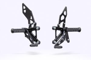 MORIWAKI/モリワキ BACK STEP KIT/バックステップキット ブラック 14-CB250F 対応 ABS車取付不可